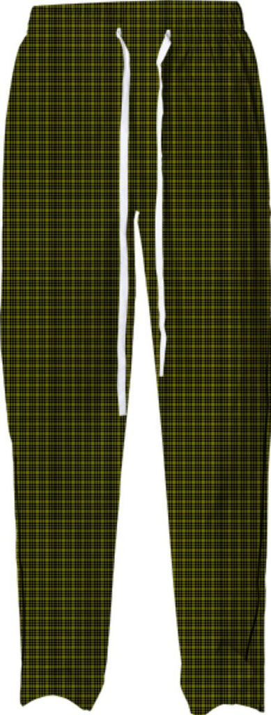 Black and Green Plaid Pajama Pant