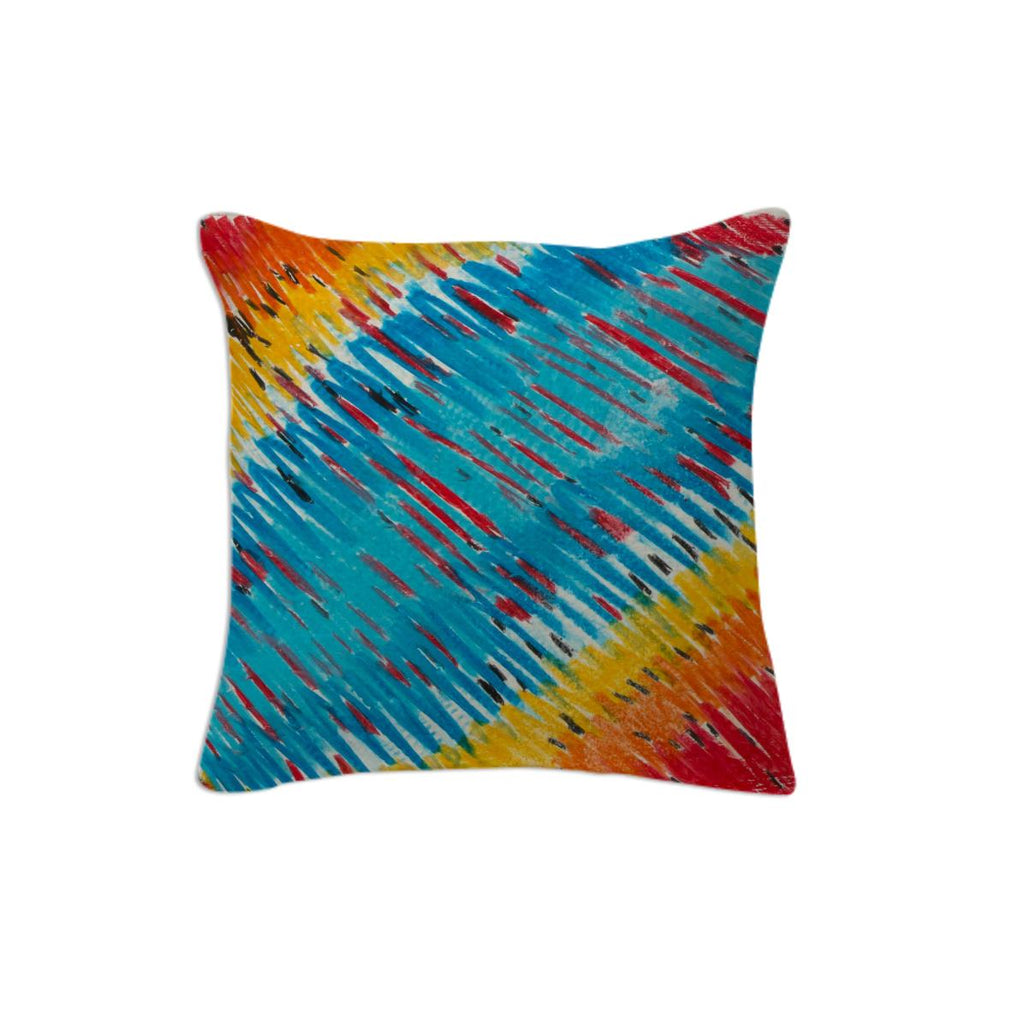 Abstract Watercolor Pillow