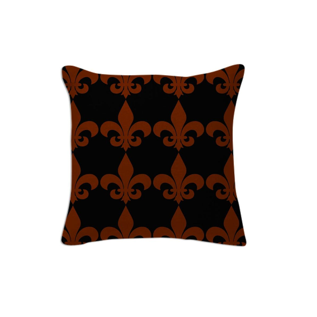 Black and Red Fleur de lis