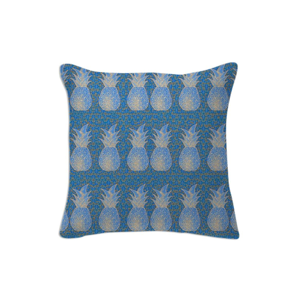 Blue Pineapple Pillow