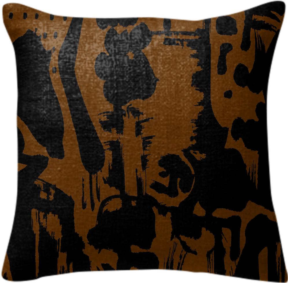 PAOM, Print All Over Me, digital print, design, fashion, style, collaboration, fort-makers, fort makers, Pillow, Pillow, Pillow, Brown, Islands, autumn winter spring summer, unisex, Poly, Home