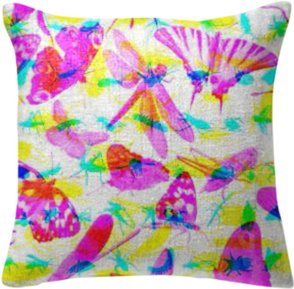 Bug Out Pillow