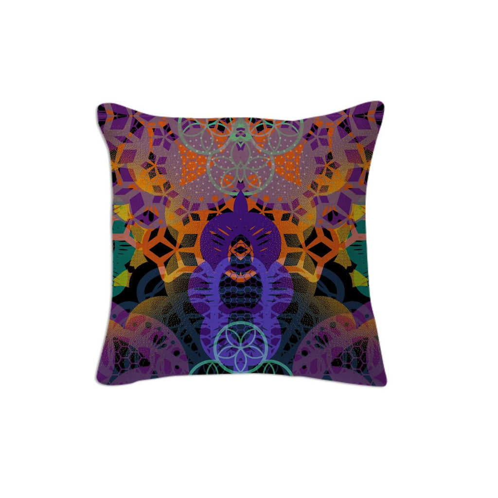 CHEERFUL FLORAL ORNAMENTIC Pillow 1