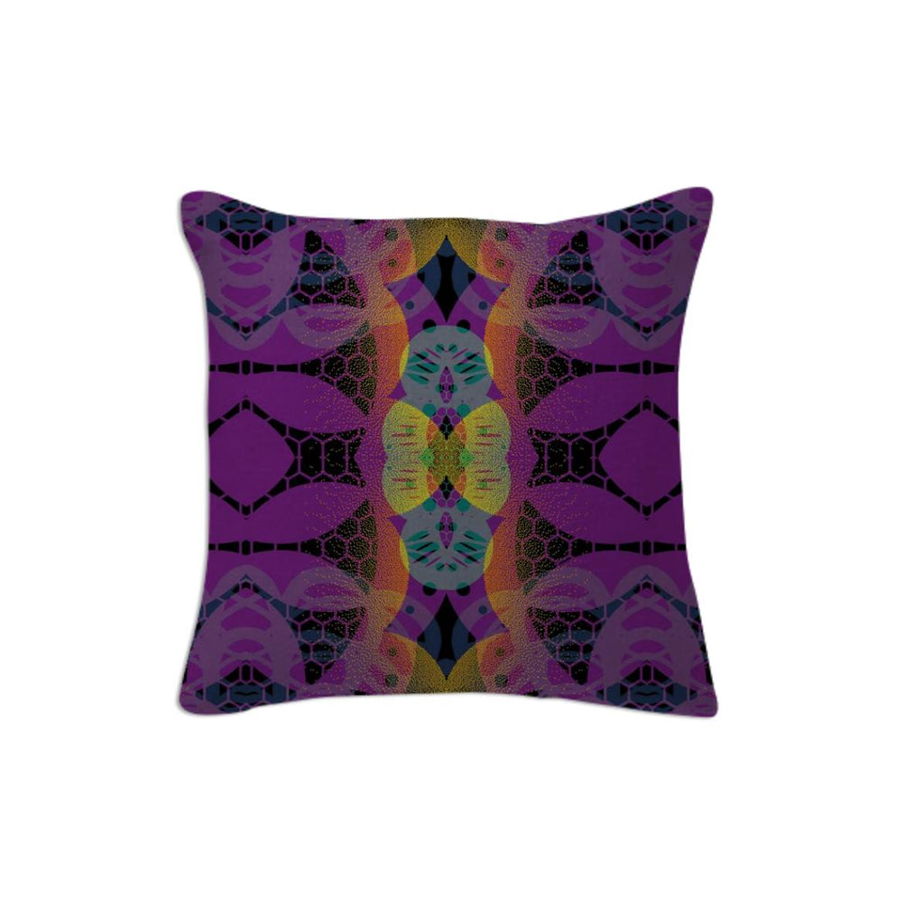 CHEERFUL FLORAL ORNAMENTIC Pillow 2