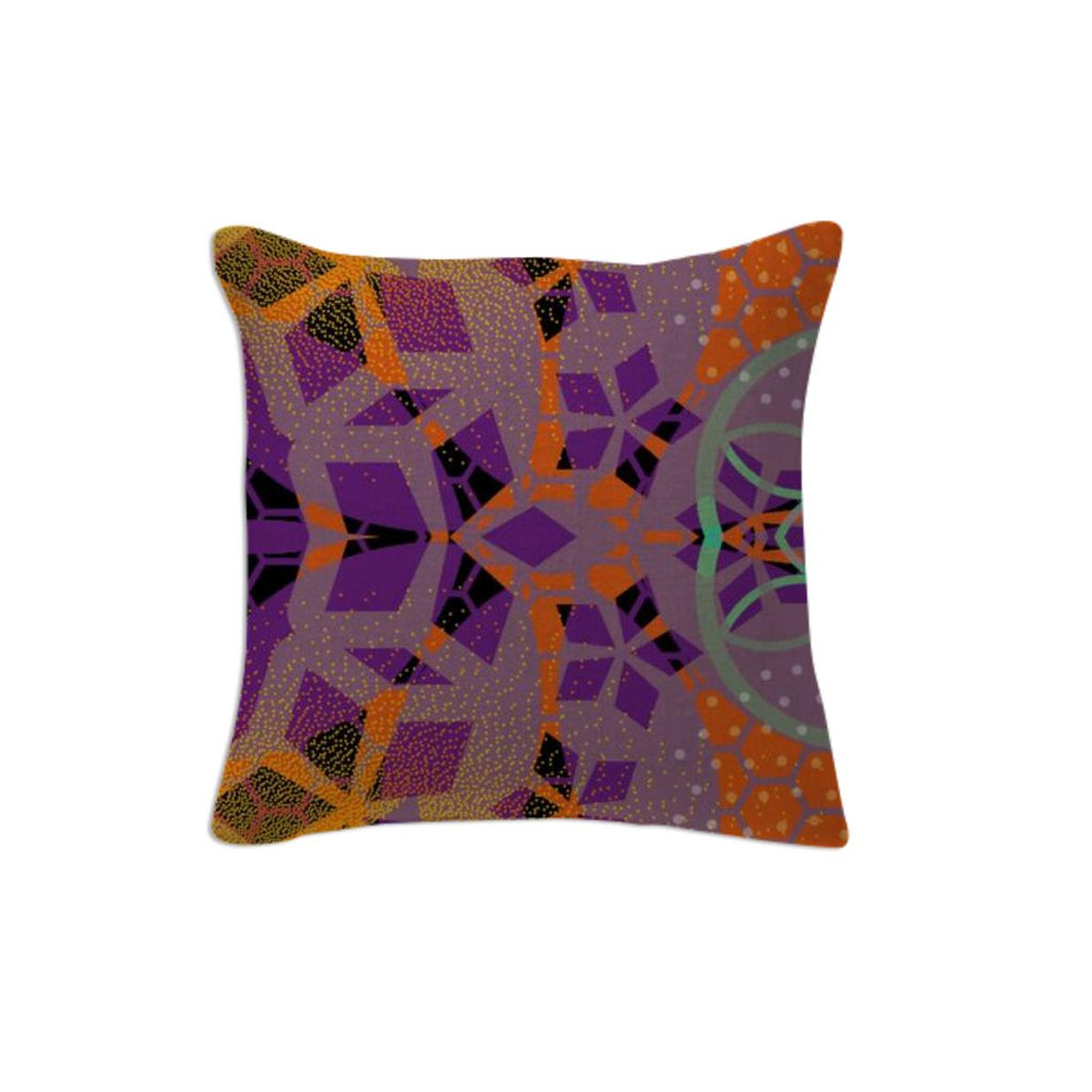 CHEERFUL FLORAL ORNAMENTIC Pillow 5