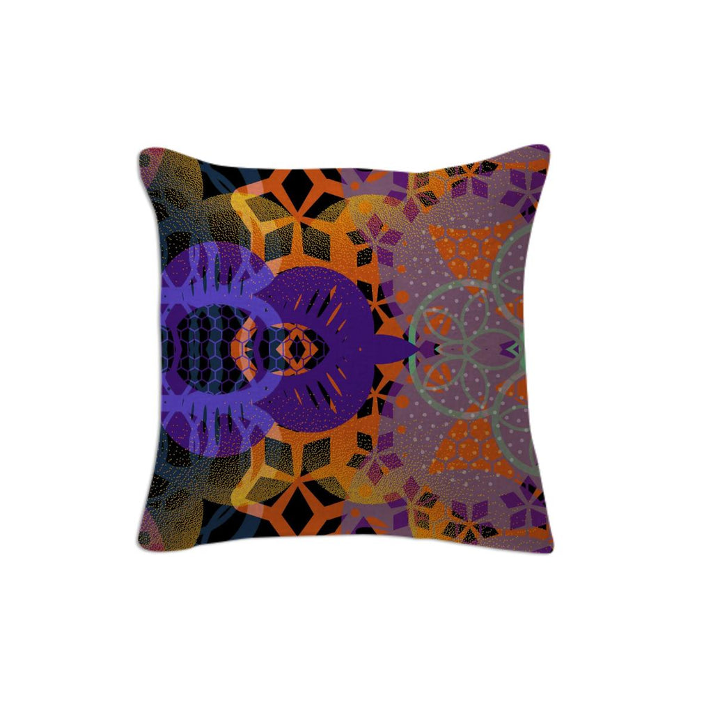 CHEERFUL FLORAL ORNAMENTIC Pillow 6