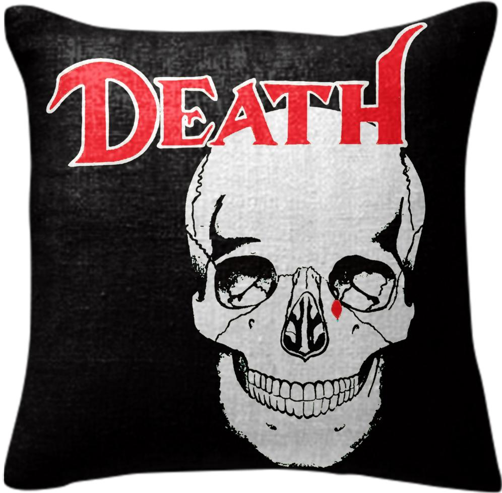 FACES OF DEATH PILLOW