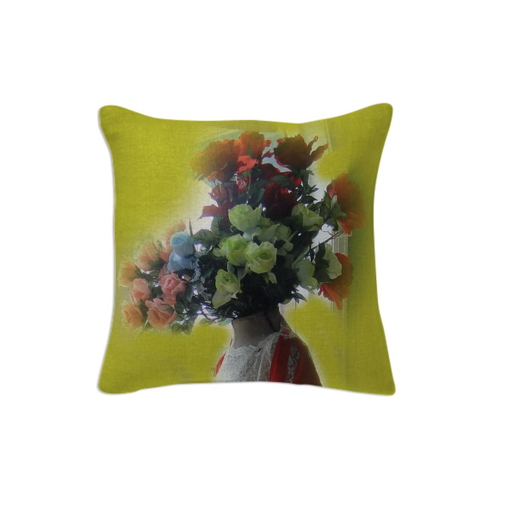 Flower head pillow