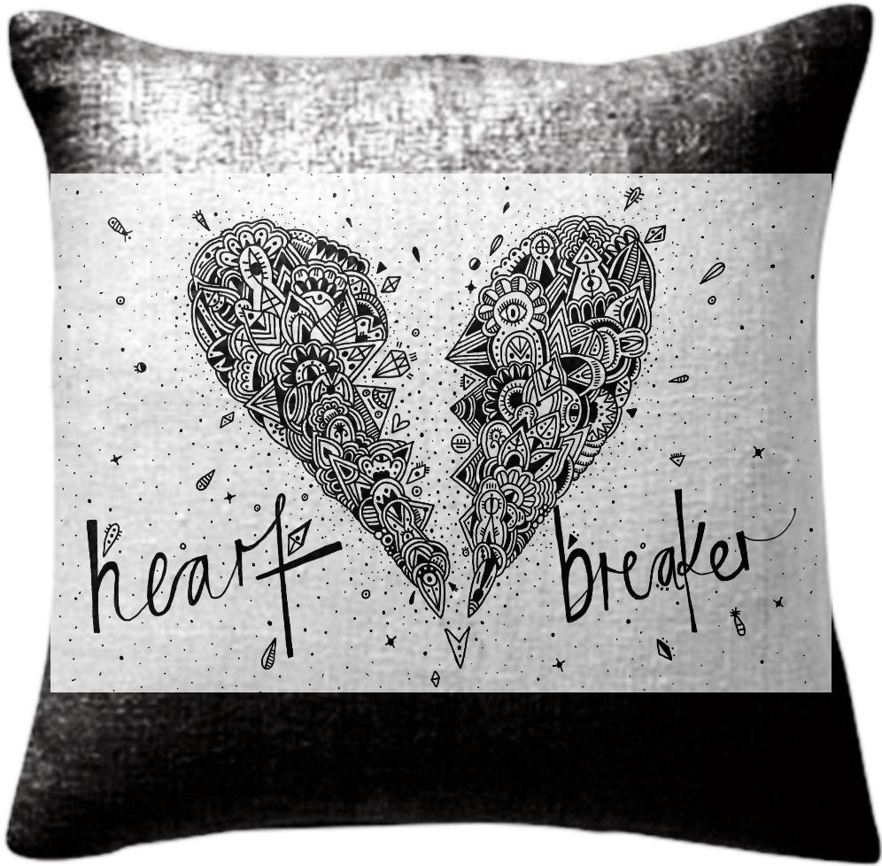 Heart Breaker Pillow