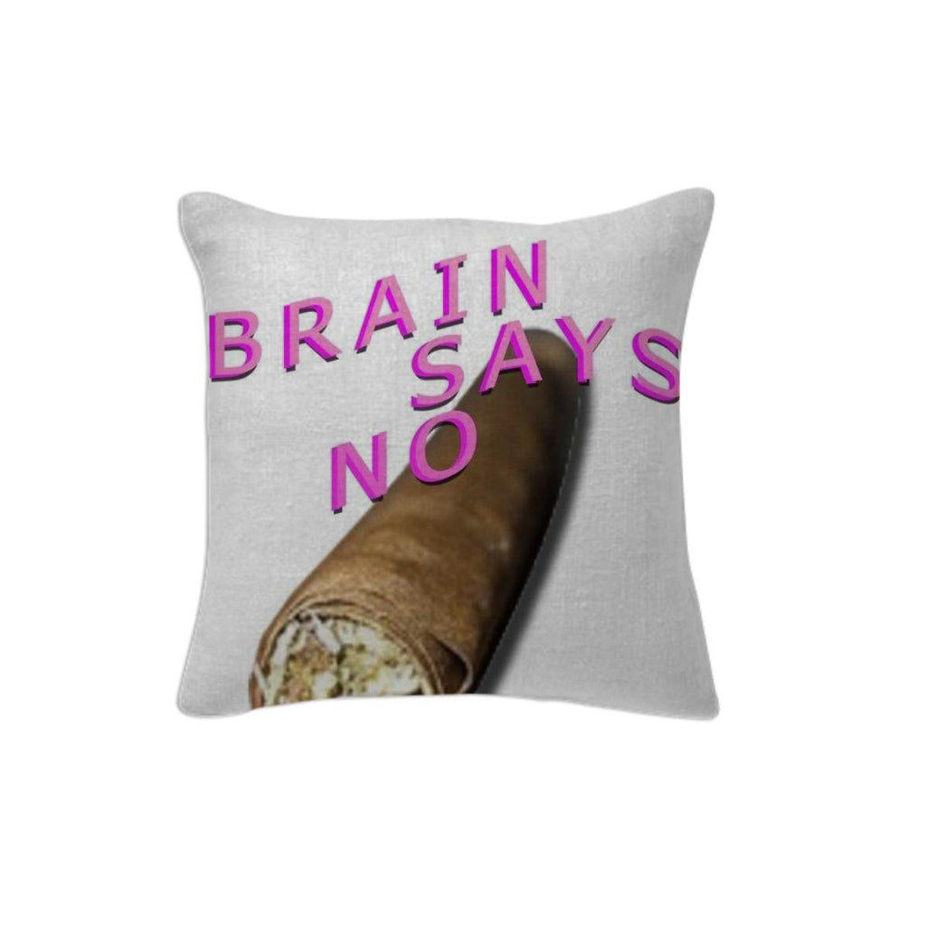 Just Say No Pillow