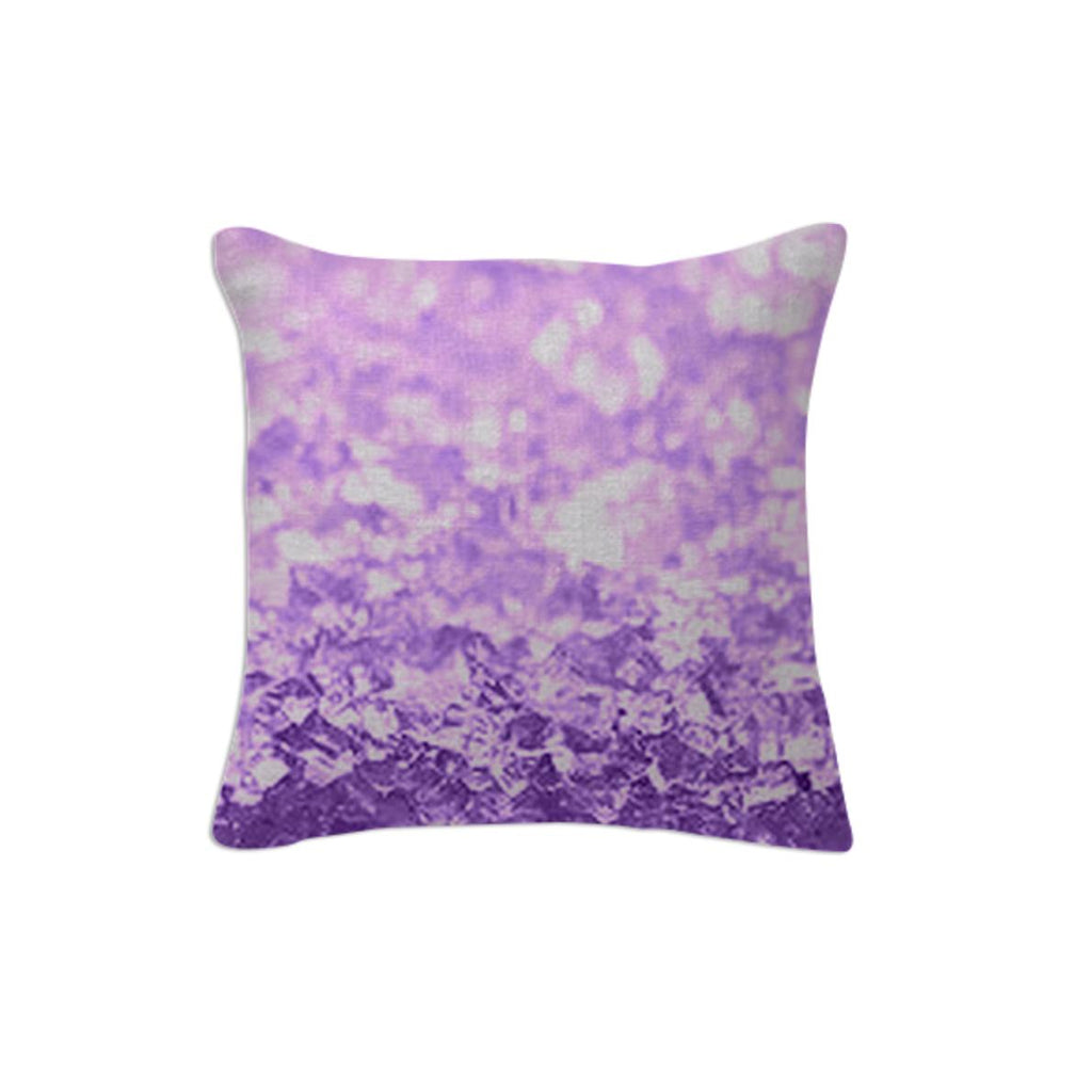Lavender Crystal Pillow