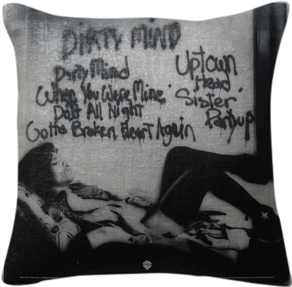 Prince Dirty Mind Back Cover Pillow