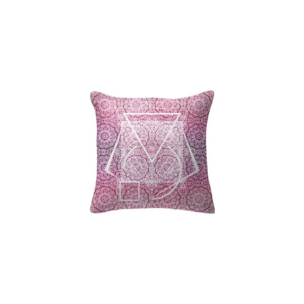 Sacred geometry pillow