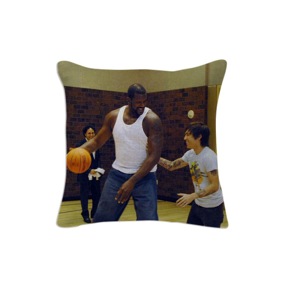 Shaq and Pete Wentz Pillow