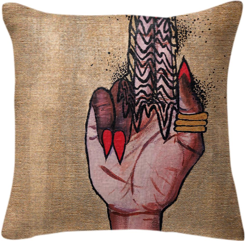 Sticky Fingers Pillow