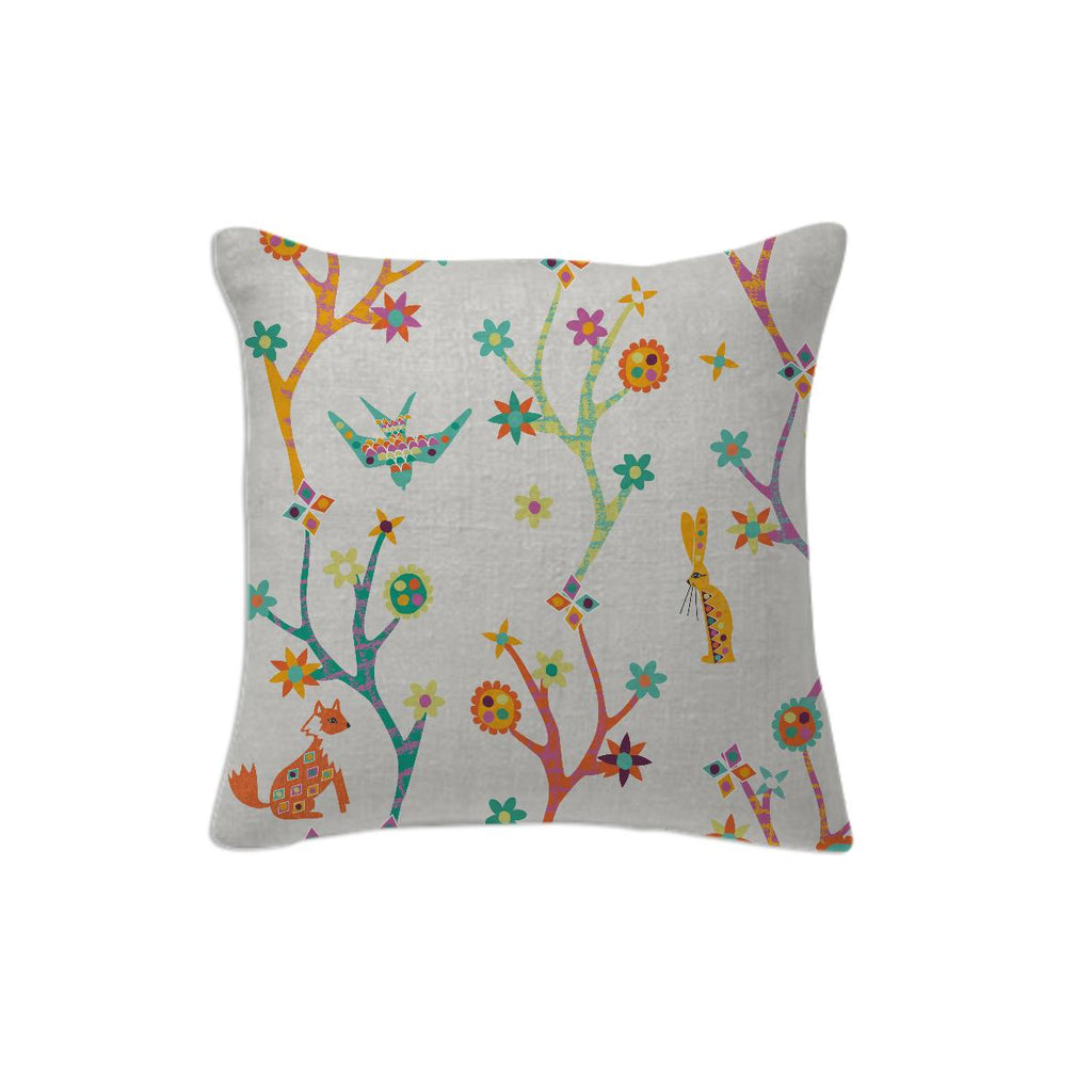 TOTEM ANIMALIA FOREST ANIMAL PILLOW