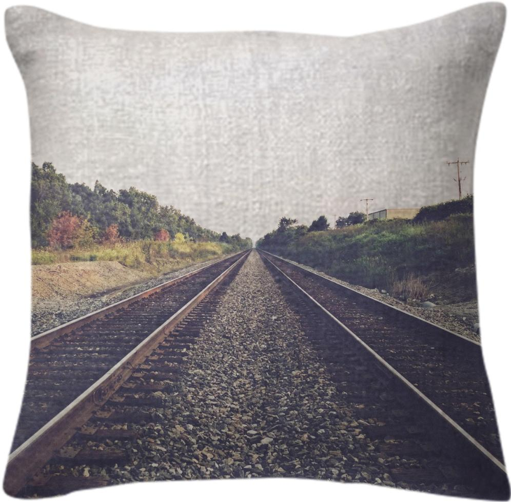 Tracks Pillow