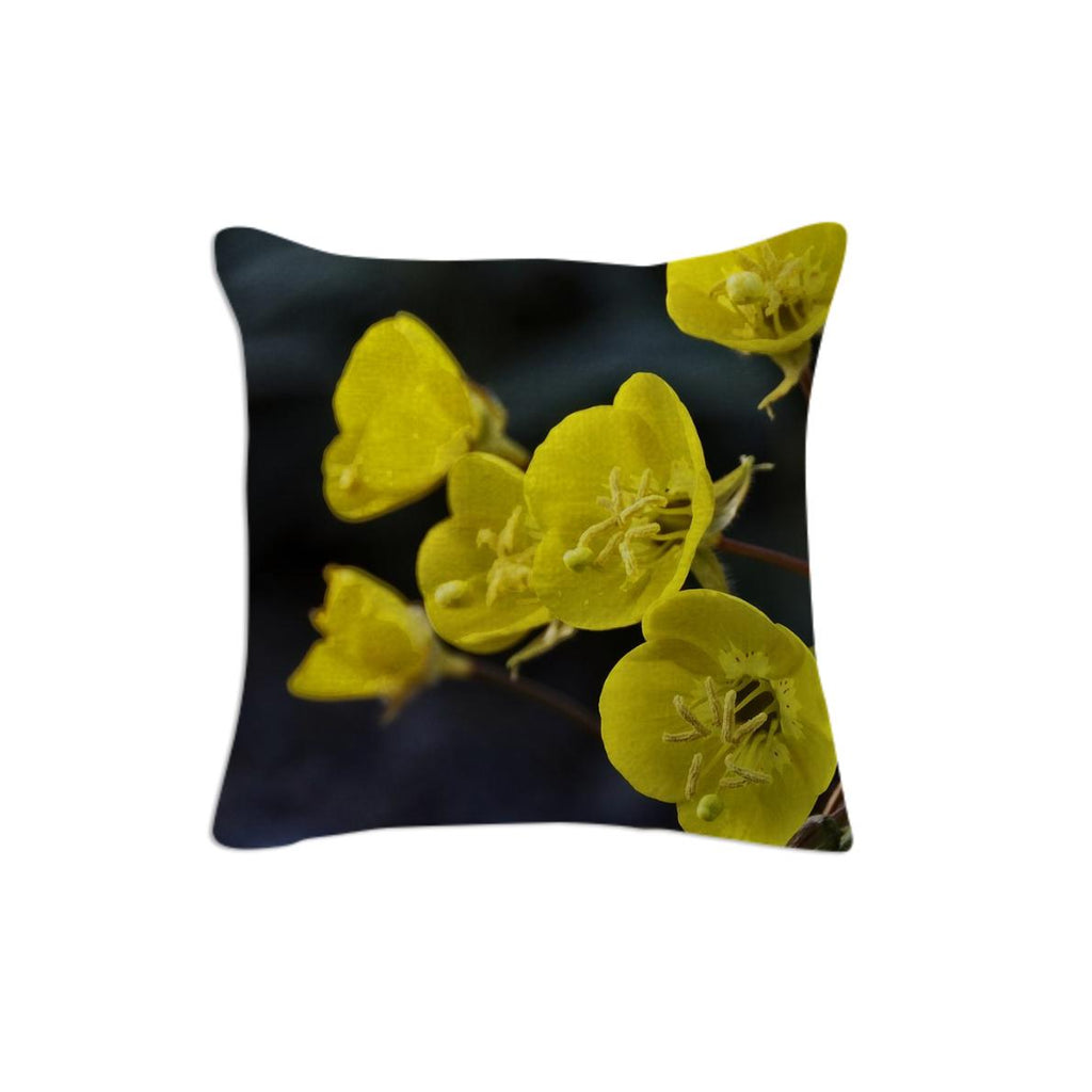 Wild Yellow Flowers from Death Valley pillow