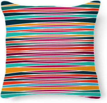 Colorful abstract lines pattern