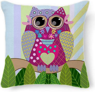 Cute Patterned Owl