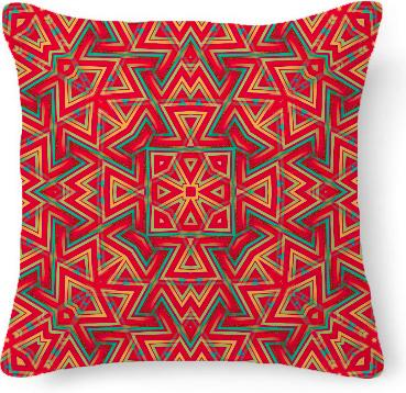 Fresh Aztec Geometry Cushion Pillow