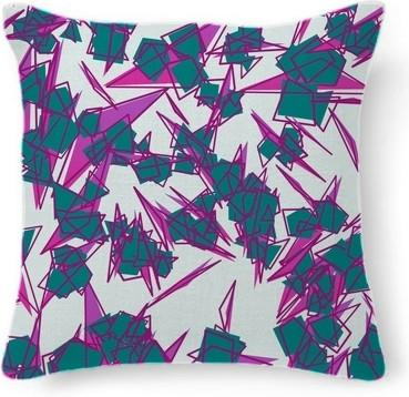 Purple and Turquoise Abstract