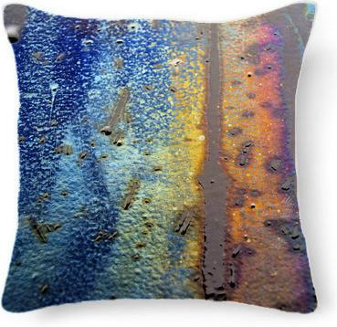 t Rainbow Texture Pillow