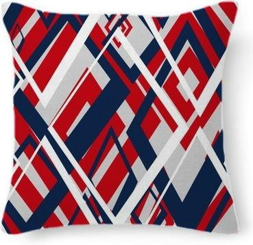 Red White and Blue Patriotic Abstract