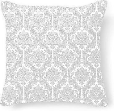 White on Black Damask