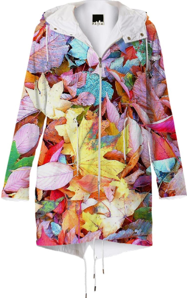 Autumn Leaves Raincoat