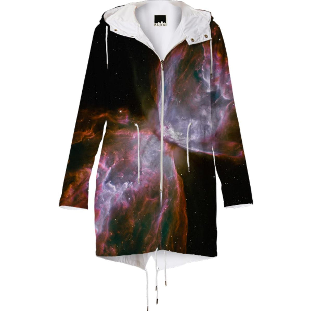 Butterfly Nebula Raincoat