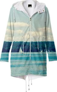 Caz Lake Rain Coat