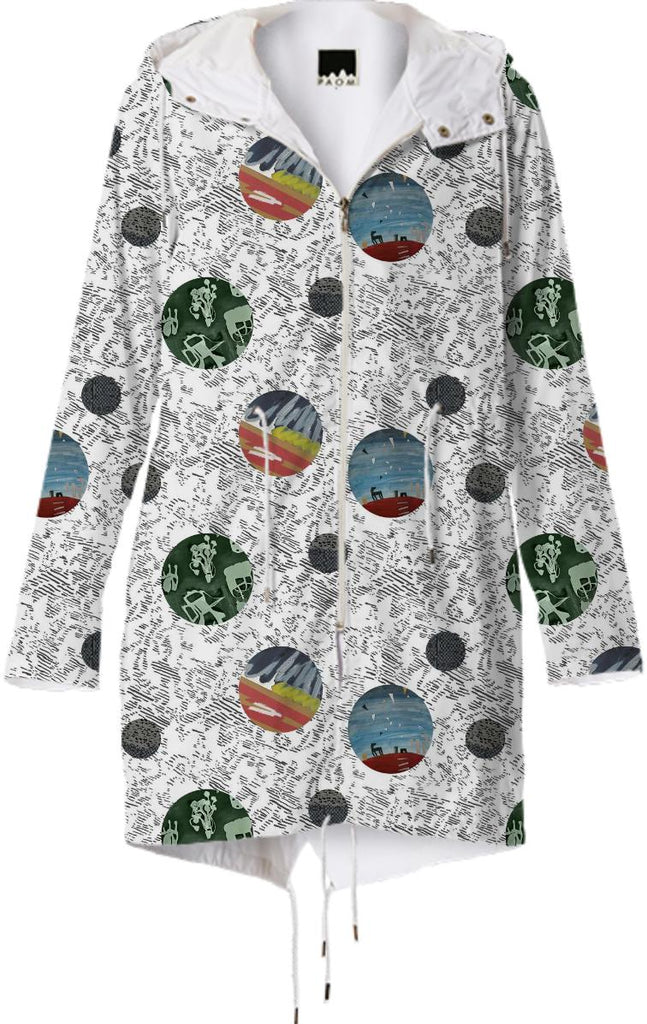 PAOM, Print All Over Me, digital print, design, fashion, style, collaboration, textile-arts-center, textile arts center, Raincoat, Raincoat, Raincoat, Feral, Childe, for, TAC, spring summer, unisex, Poly, Outerwear