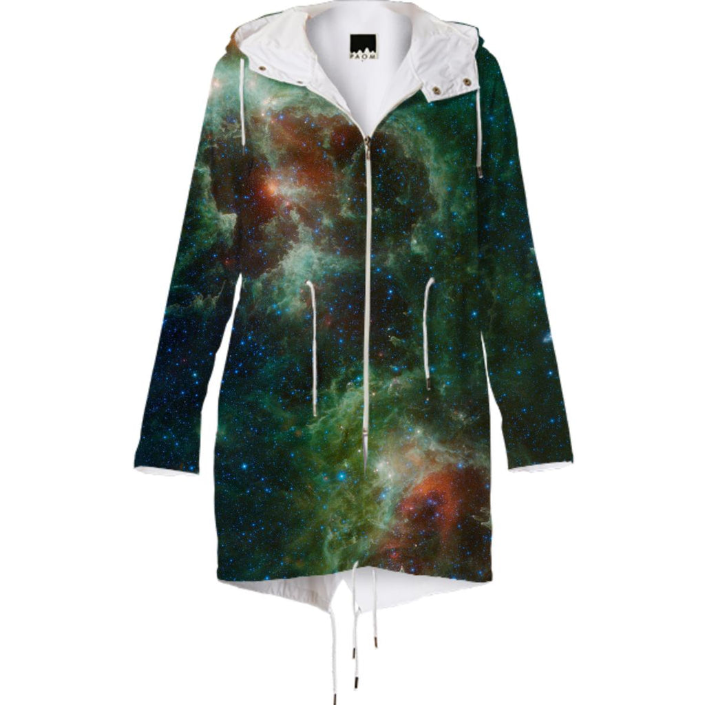 Heart Soul Nebula Raincoat