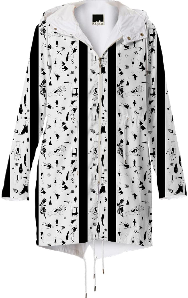 PAOM, Print All Over Me, digital print, design, fashion, style, collaboration, textile-arts-center, textile arts center, Raincoat, Raincoat, Raincoat, StudyNY, for, TAC, spring summer, unisex, Poly, Outerwear