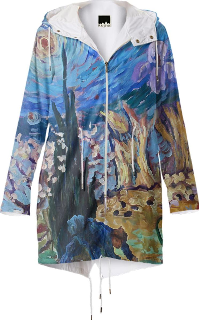 Van Gogh Spirit Raincoat