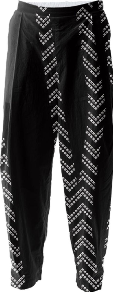 Chevron and Zebra Relaxed Pant