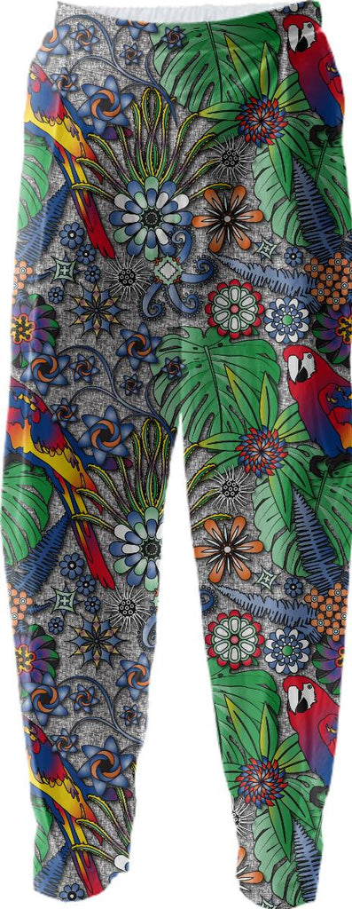 Jungle Parrot Relaxed Pant