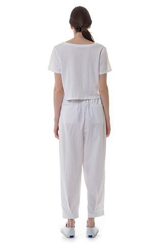 Spring Pastel Abstract Relaxed Pant