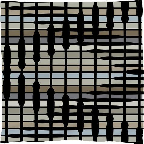 Abstract neutral stripes