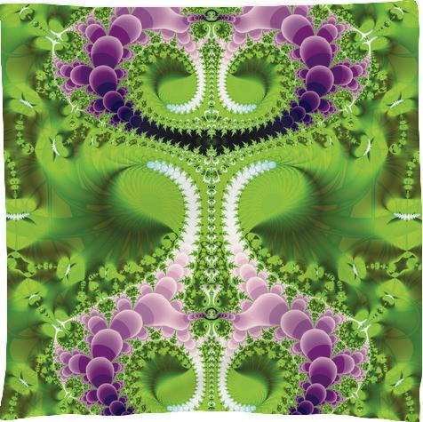 Green and Purple Fractal