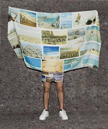 The Perfect Nothing Catalog Sarong Anthony Cudahy beach art