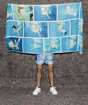 PAOM, Print All Over Me, digital print, design, fashion, style, collaboration, frank-traynor, frank traynor, Scarf, Scarf, Scarf, The, Perfect, Nothing, Catalog, Sarong, autumn winter spring summer, unisex, Rayon, Accessories
