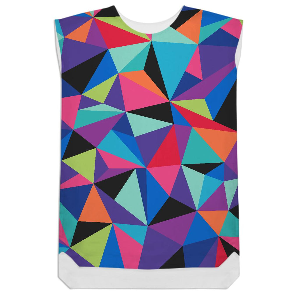 GEO POP SHIFT DRESS