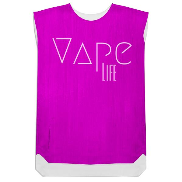 Hot Pink Vape Life Shift Dress