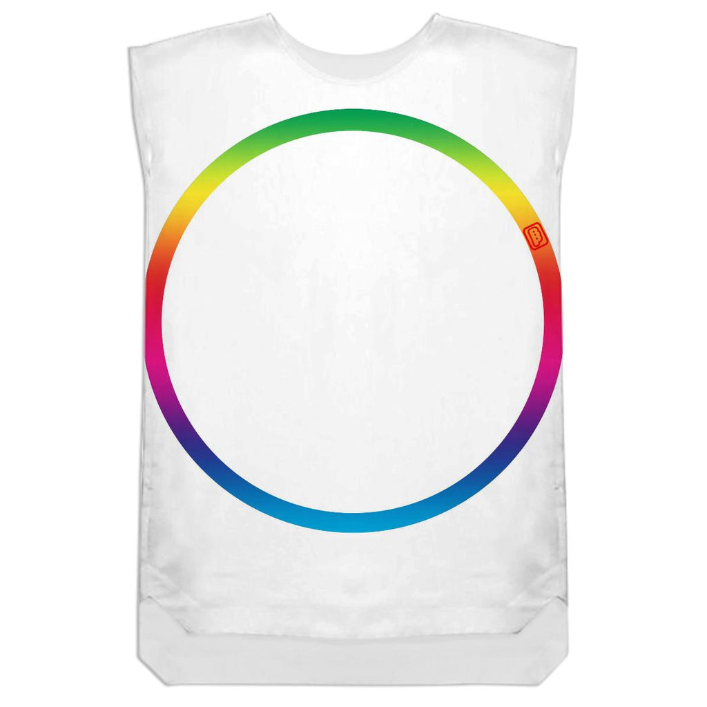 Rainbow Ring Shift Dress by Ben Phen
