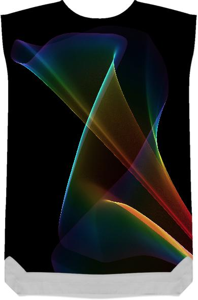 Abstract Rainbow Lily Colorful Fractal Mystical Flower