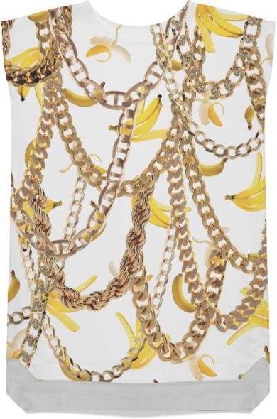 Banana Chainz Gold White