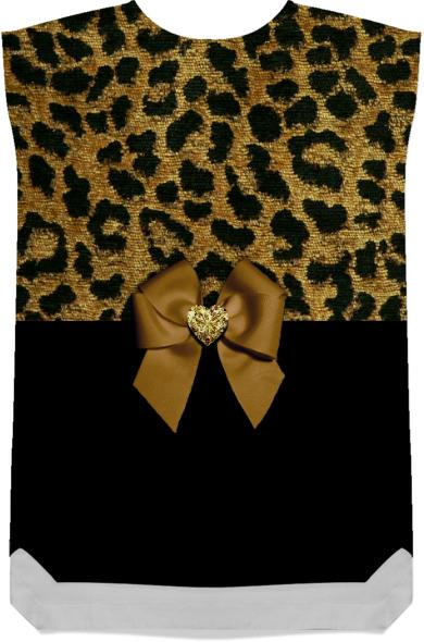 Leopard Print and Jewelled Bow