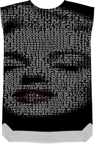 Marilyn red lips ASCII